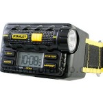 Stanley watch with built in LED flashlight