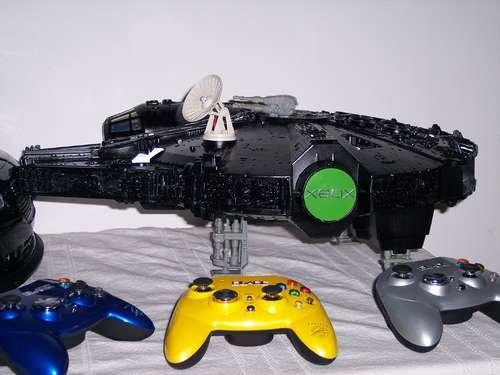 XBox Millennium Falcon mod