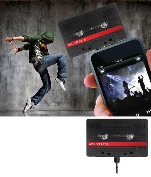 Cassette iPod speaker