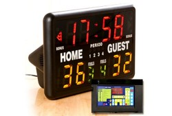 MacGregor Multisport Tabletop Electric Scoreboard