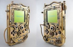 Gameboy goes Steampunk