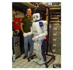 ATOM-7xp humanoid robot is Atom-powered
