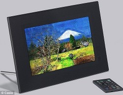 Casio's Digital Art Frame redraws your photos