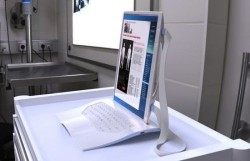 Washable Rx tablet PC for doctors