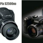 Fujifilm FinePix S2500HD camera with 18x optical zoom