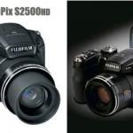 Fujifilm FinePix S2500HD camera with 18x optical zoom