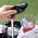 Electronic Drink Caddie for Golfers
