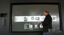 HP&#039;s Wall of Touch