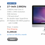 Ship delay for 27-inch iMac grows