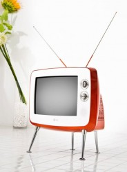 LG goes retro with the Serie 1 CRT TV