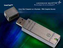 Lockheed Martin Ultra Secure flash drive