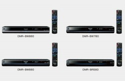 Panasonic launches four Blu-ray DVRs