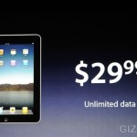 iPad gets unlimited data for $30/Month with no contract