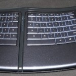Motorized keyboard moves to relieve stress