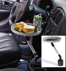 Swivel Car Tray, juicebox not included