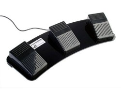 Triple USB Foot Switch