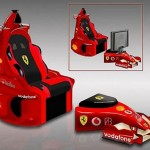 Ferrari F1 Chair goes nowhere fast