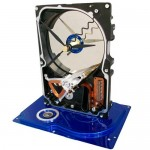 TecoArt hard drive clock winner