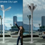 Smart street lights that bloom