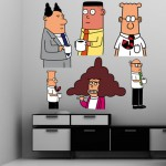 Dilbert wall and laptop graphics now available