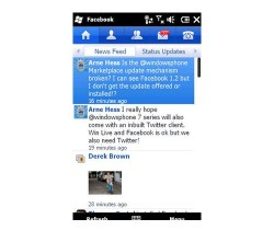 Facebook 1.2 for Windows Mobile released
