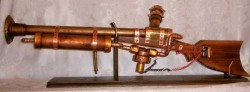 Steampunk blunderbuss actually fires