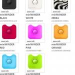 miniWINDER keeps earphones untangled