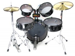Omega GM-1: Real drum set for Rock Band