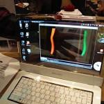 Samsung eyes bringing transparent AMOLED screen notebook to market