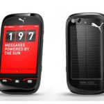 Puma solar-powered phone