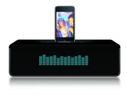 Santok SMC1000 iPhone Boombox Speaker with Visual Equalizer