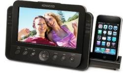 Kenwood AS-iP70 Digital Photo Frame with iPhone dock