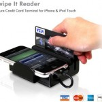 Swipe It reader turns your iPhone into a Credit Card terminal
