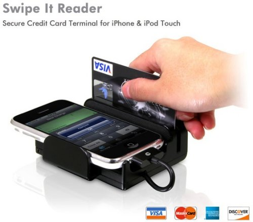 use cell phone for credit card machine