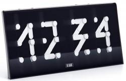 Art Lebedev's Segmentus clock is digital with analog hands