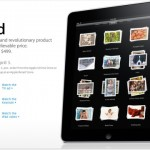 Apple iPad PreSale starting today