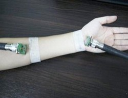 South Korean scientists transmit broadband signals through a human arm