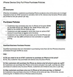 Apple now offering iPhones contract free