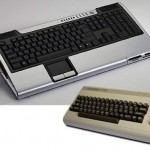 Commodore name licensed for a line of keyboard PCs
