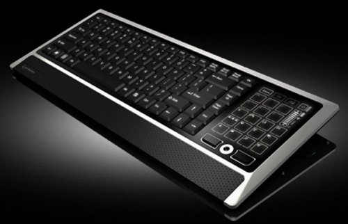 LCD Touchscreen Keyboard