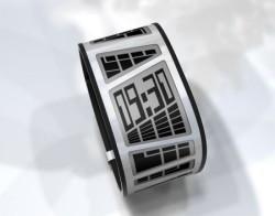 E Clock is like having an e-book on your wrist