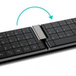 Foldable Keyboard for Tablets doubles as a phone