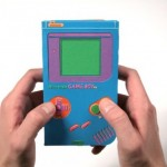 Papercraft Game Boy looks authentic