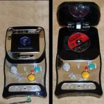 Flip-top GameCube portable