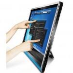 Lenovo L2461x Wide: Full HD Multitouch Monitor