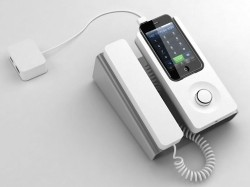 http://gizmodo.com/5505908/theres-finally-a-dock-to-turn-iphones-into-corded-desk-phones