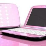 Fujitsu MH380 netbook goes pink