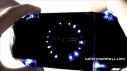 Turn your PSP into a VU Meter