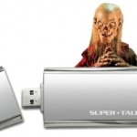 Super Talent SuperCrypt thumbdrives with USB 3.0, 256-bit encryption