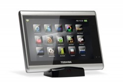 Toshiba plans home tablets for late 2010
